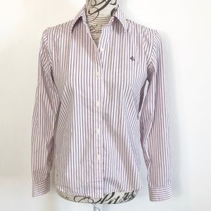 Lauren Ralph Lauren non iron button down shirt